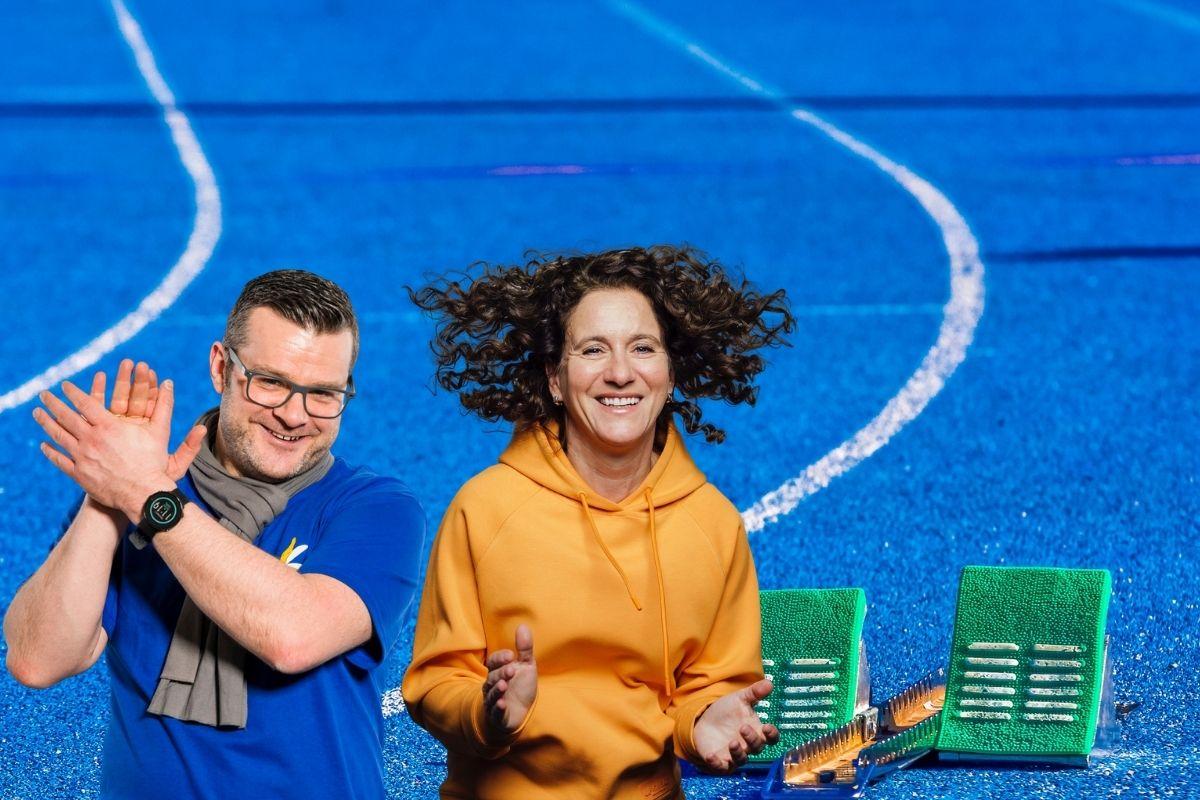 Ready, steady, go mit Motivationstrainerin Birgit Rathay und Social Media Stratege Christoph Ziegler